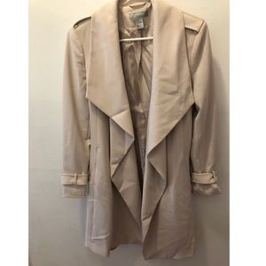 long formal trench coat